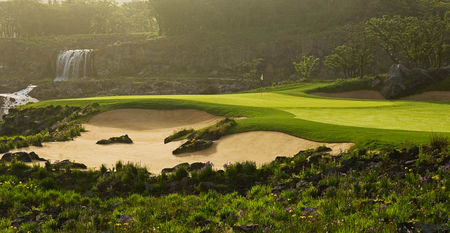 Overview of golf course named Black Stone Golf Resort at Jeju