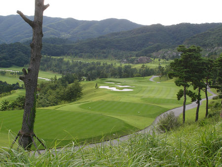 Overview of golf course named Gapyeong Benest Golf Club