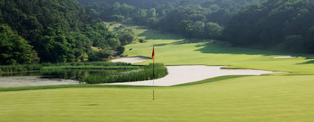 Overview of golf course named Hwasan Country Club