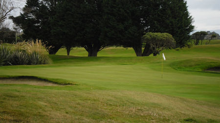 Invercargill Golf Club Cover Picture