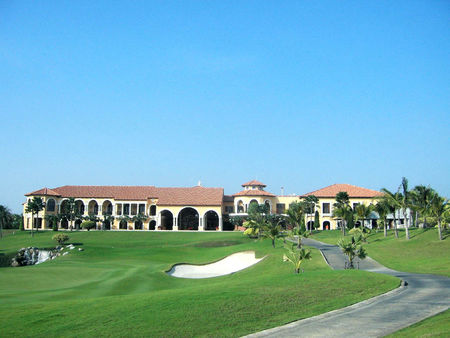 Overview of golf course named Amata Spring Country Club
