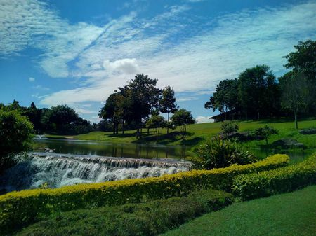 Overview of golf course named Santiburi Golf Chiang Rai