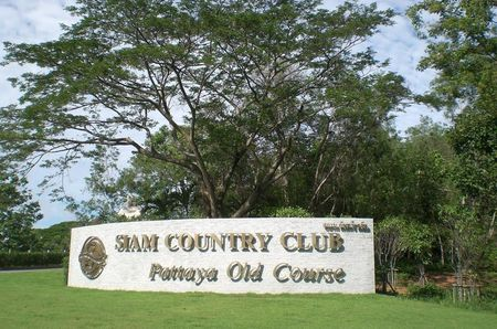 Overview of golf course named Old Course at Siam Country Club Pattaya