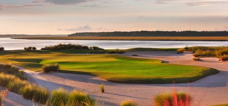 Overview of golf course named Colleton River Plantation