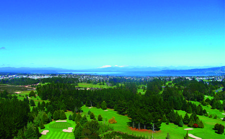 Overview of golf course named Taupo Golf Club
