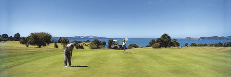 Overview of golf course named Waitangi Golf Club