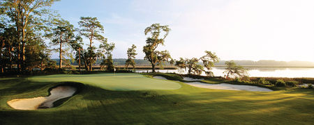 Overview of golf course named May River Golf Club at Palmetto Bluff
