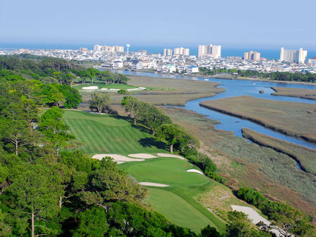 Overview of golf course named Tidewater Golf Club & Plantation