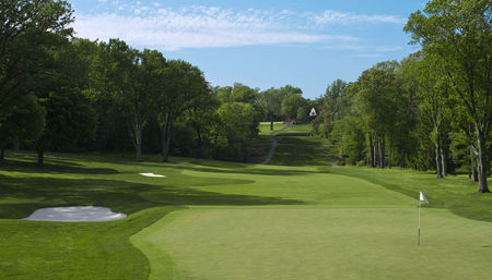 Overview of golf course named Aronimink Golf Club