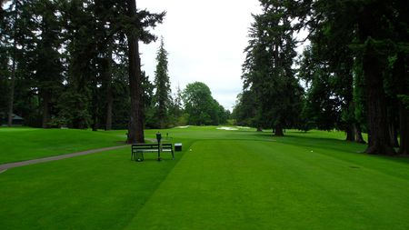 Overview of golf course named Eugene Country Club