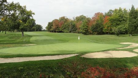 Overview of golf course named Canterbury Golf Club