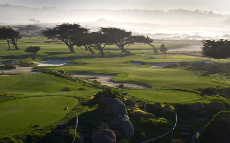 Overview of golf course named Monterey Peninsula Country Club - The Shore