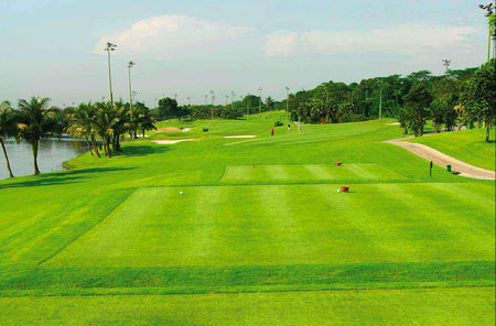 Overview of golf course named Orchid Country Club