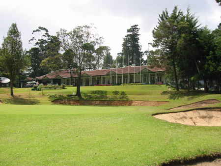 Overview of golf course named Nuwara Eliya Golf Club