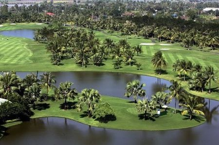 Overview of golf course named Thai Country Club