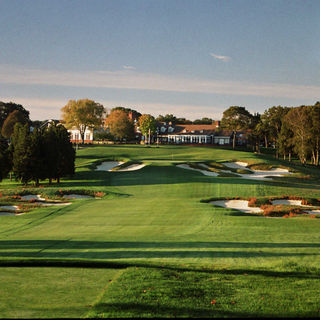 Black course at bethpage state park golf cover picture