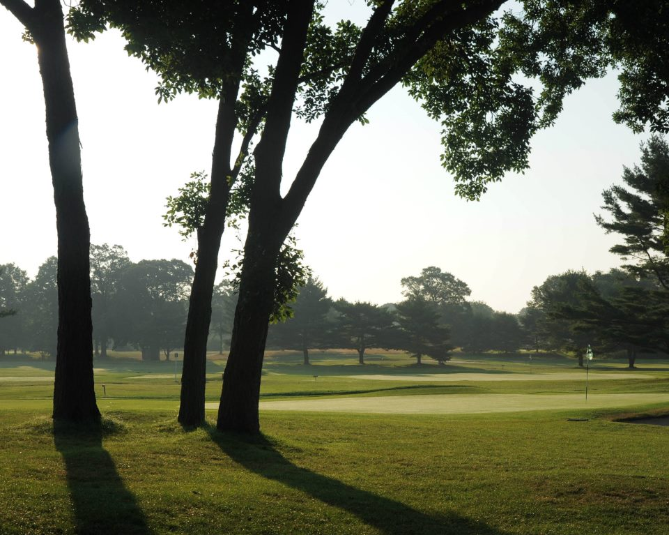 Overview of golf course named Green Course at Bethpage State Park Golf