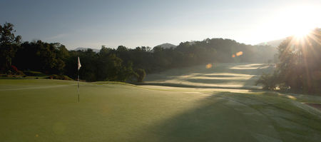 Overview of golf course named Chiangmai Highlands Golf and Spa Resort