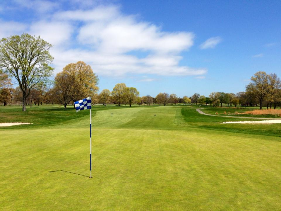 Overview of golf course named Blue Course at Bethpage State Park Golf