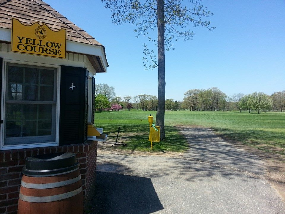 Overview of golf course named Yellow Course at Bethpage State Park Golf