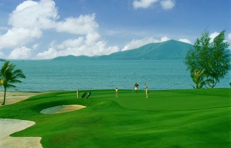Overview of golf course named Mission Hills Phuket Golf Resort and Spa