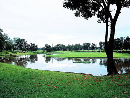 Overview of golf course named Luisita Golf and Country Club