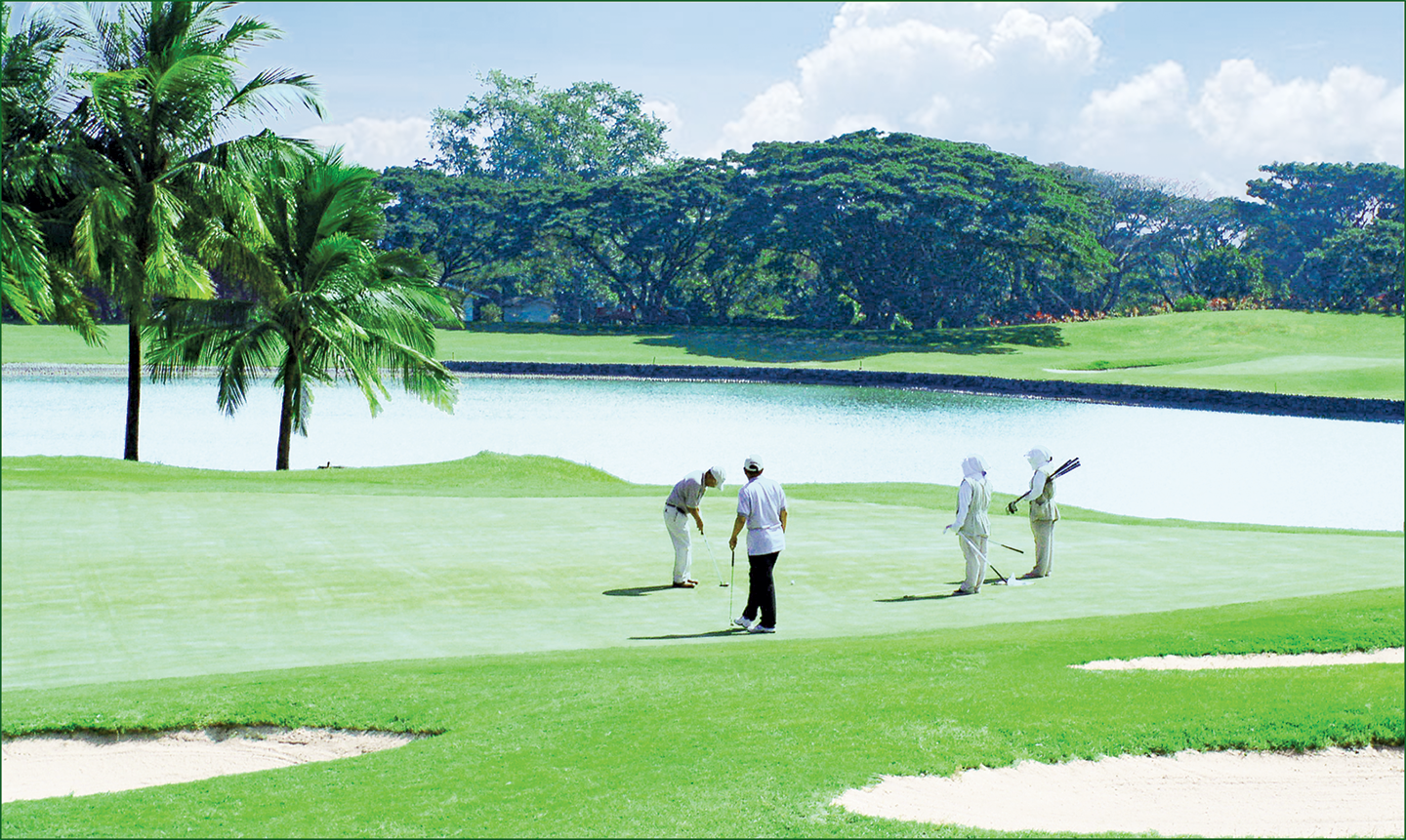 Overview of golf course named Mimosa Golf and Country Club