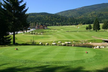 Overview of golf course named Gray Bear Golf Club Tale
