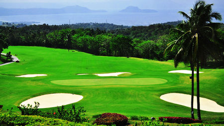 Overview of golf course named Tagaytay Midlands Golf Club