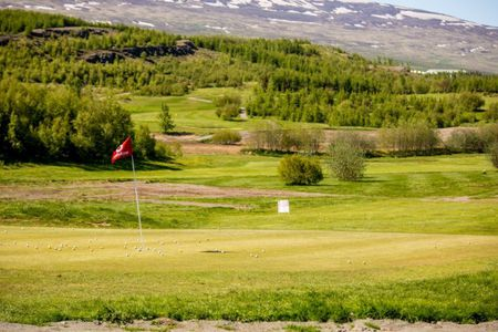 Overview of golf course named Akureyri Golf Course