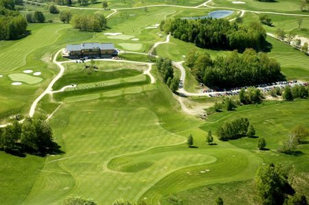 Overview of golf course named Ypsilon Liberec Golf Resort