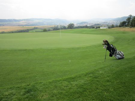 Overview of golf course named Beroun Golf Resort