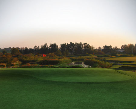 Overview of golf course named Sand Valley Golf and Country Club