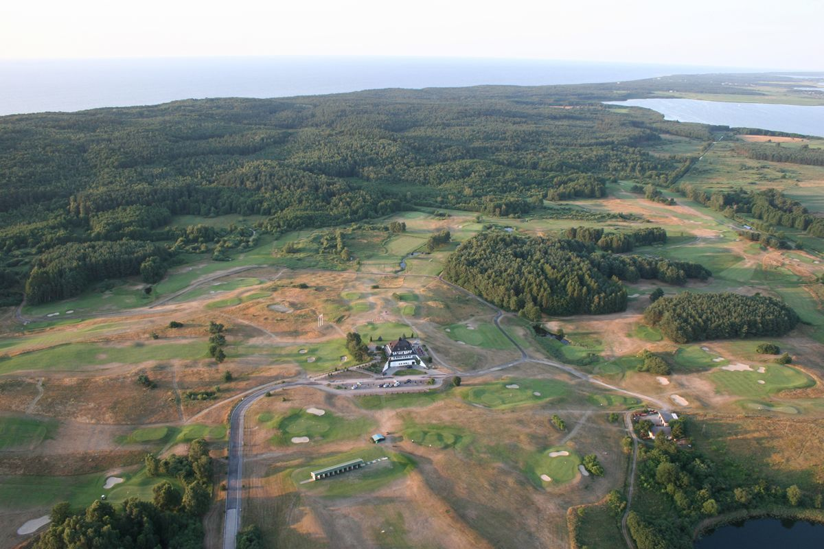 Overview of golf course named Amber Baltic Golf Club