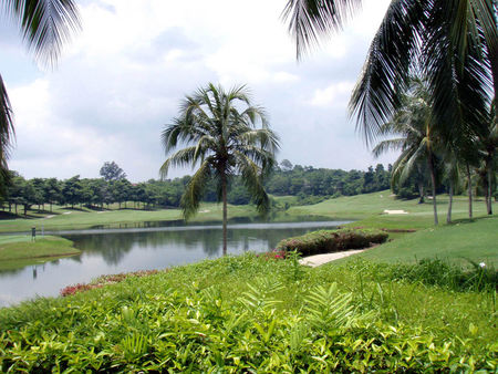 Overview of golf course named Tiara Melaka Golf and Country Club
