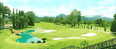 Overview of golf course named Royal Perak Golf Club