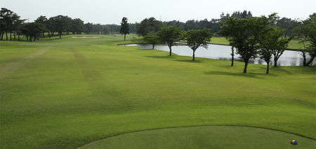 Overview of golf course named West Course at Kasumigaseki Country Club