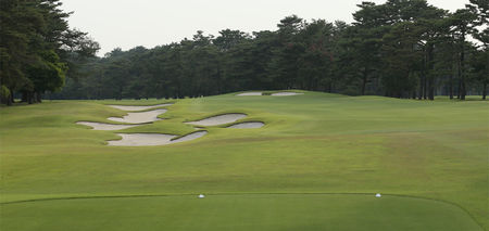 Overview of golf course named East Course at Kasumigaseki Country Club