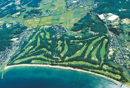Overview of golf course named Shimonoseki Golf Club