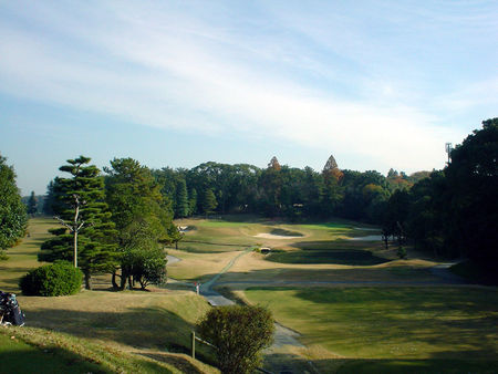Overview of golf course named Wago Course at Nagoya Golf Club