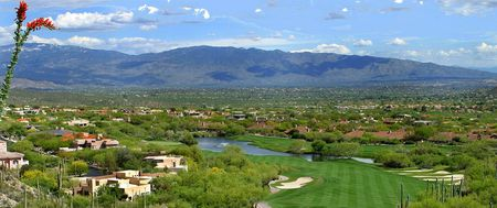 Overview of golf course named Ventana Canyon