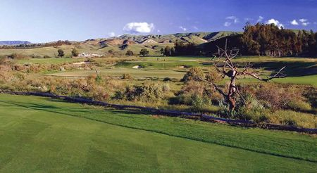 Overview of golf course named Rustic Canyon Golf Course