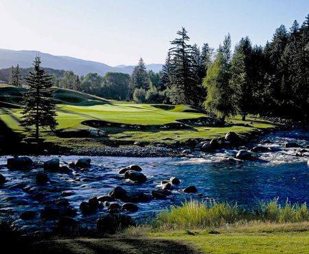 Overview of golf course named Country Club of The Rockies