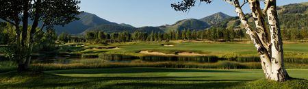 Overview of golf course named Maroon Creek Club Golf Course