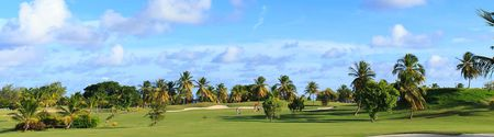 Overview of golf course named Golf International of Saint-Francois