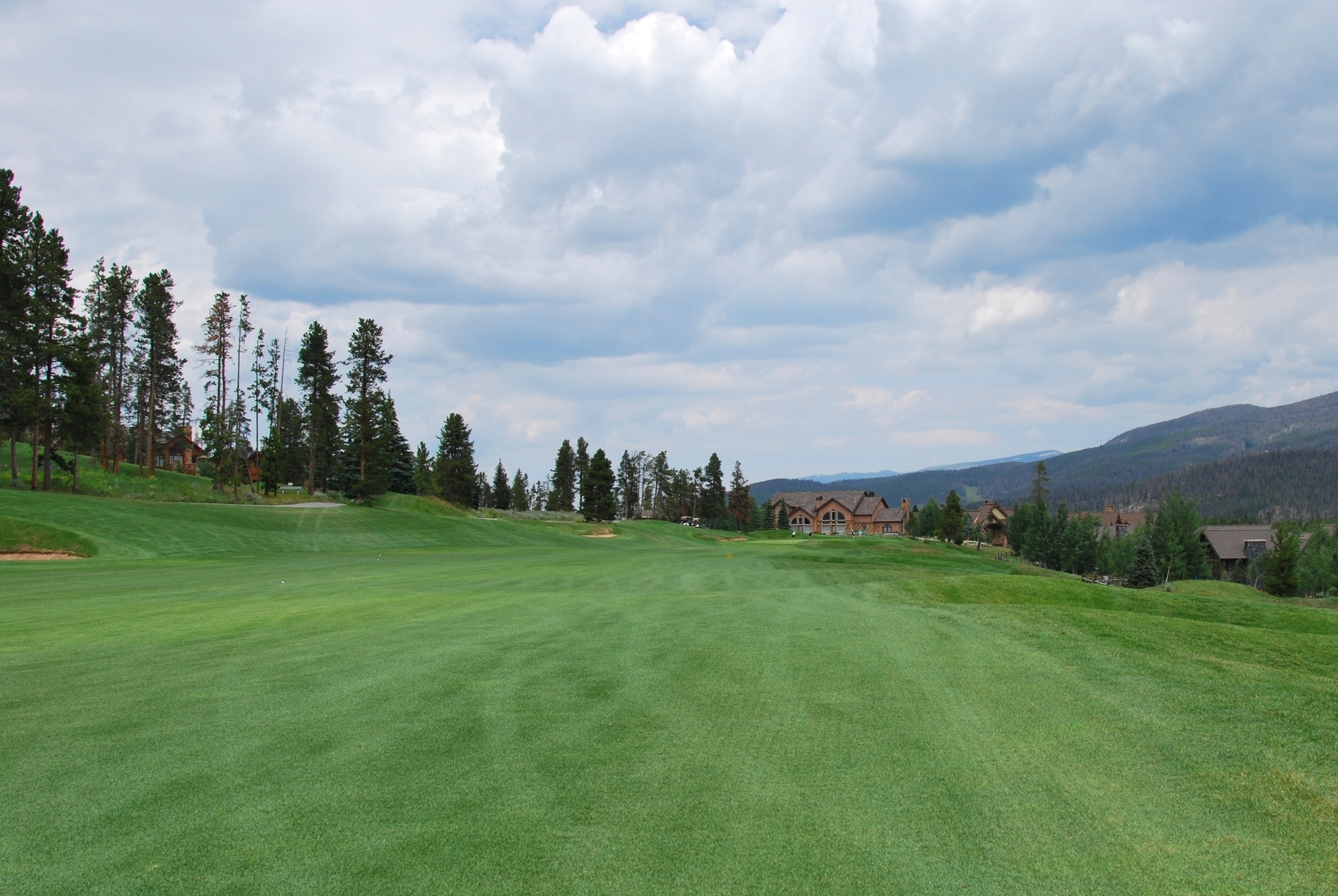 Overview of golf course named Breckenridge Golf Club
