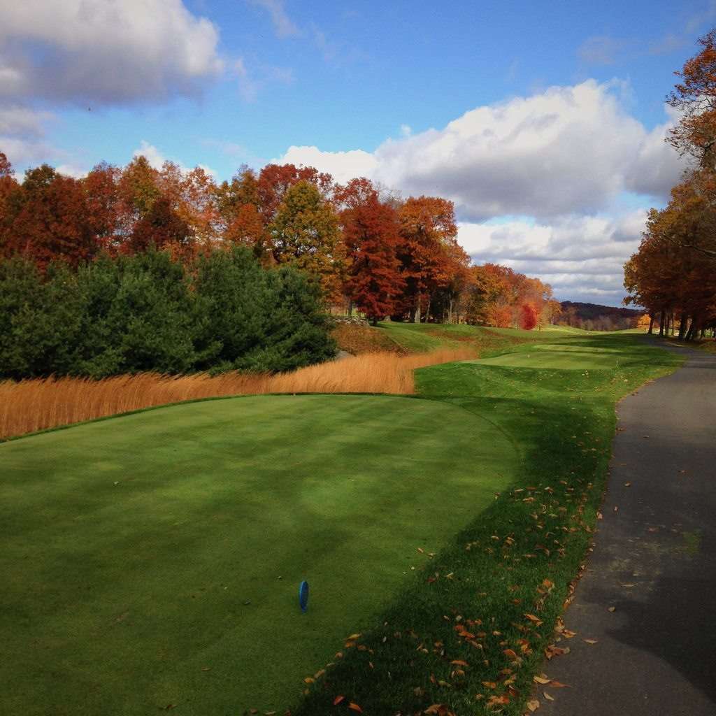 Overview of golf course named Great River Golf Club