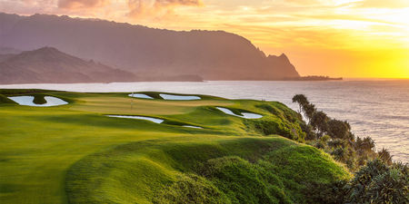 Overview of golf course named Princeville Makai Golf Club