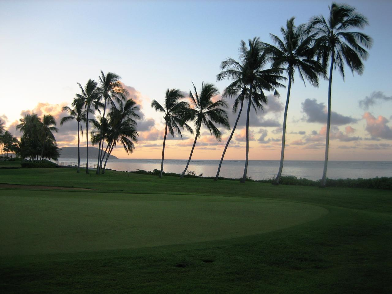 Overview of golf course named Waialae Country Club