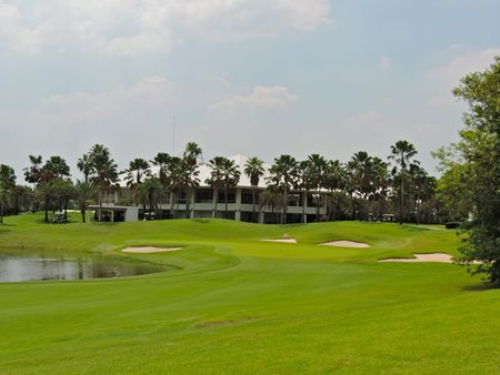 Overview of golf course named Lotus Valley Golf Resort
